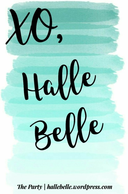 The Party is Creating and Inspiring: Bible Journaling Ideas // The Party // Halle Belle // @hallebelleandtheparty